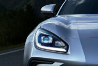 exterior and interior 2022 subaru brz