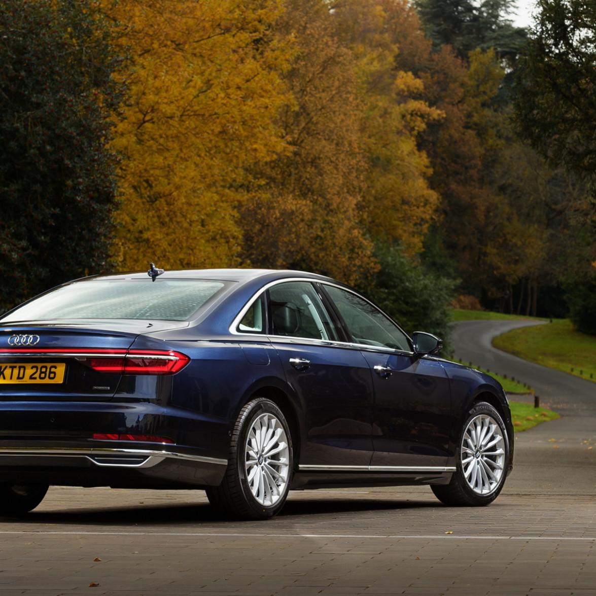 History Audi A8 2022