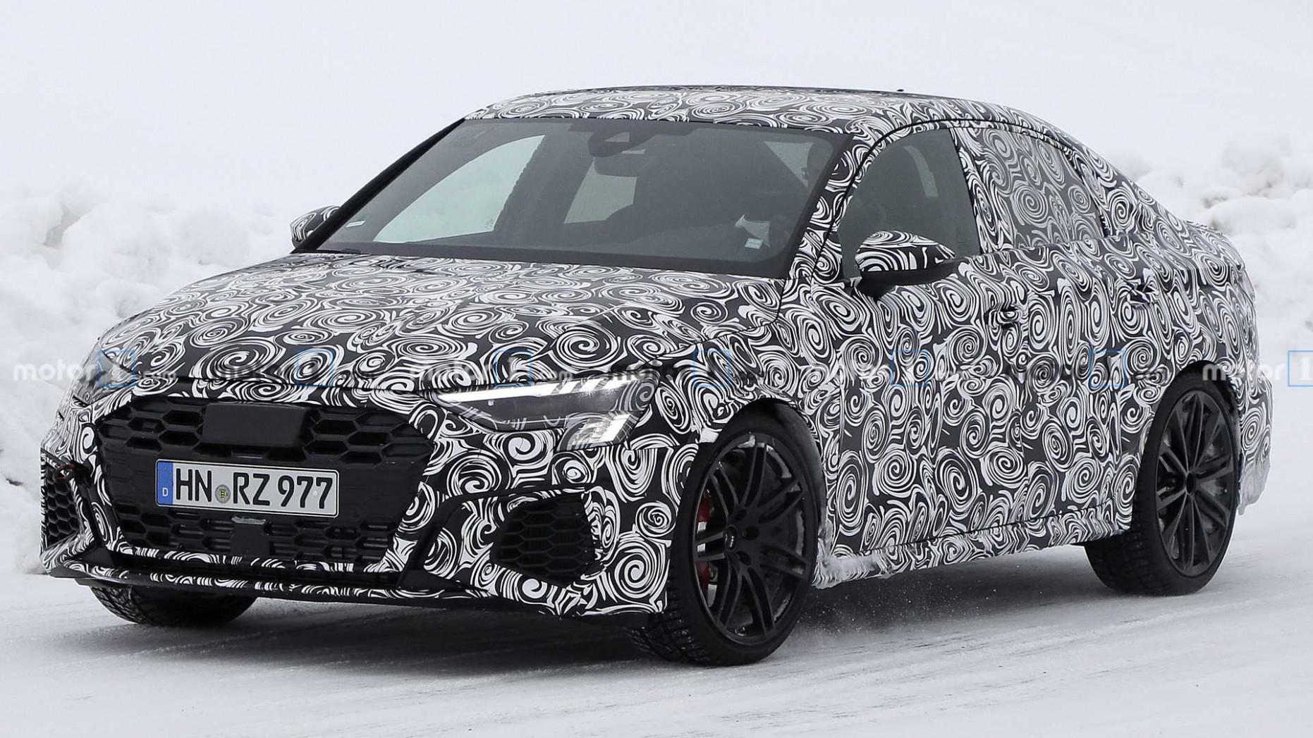 Wallpaper Audi S3 2022