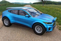 exterior and interior ford mustang suv 2022
