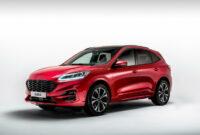 exterior and interior ford new kuga 2022