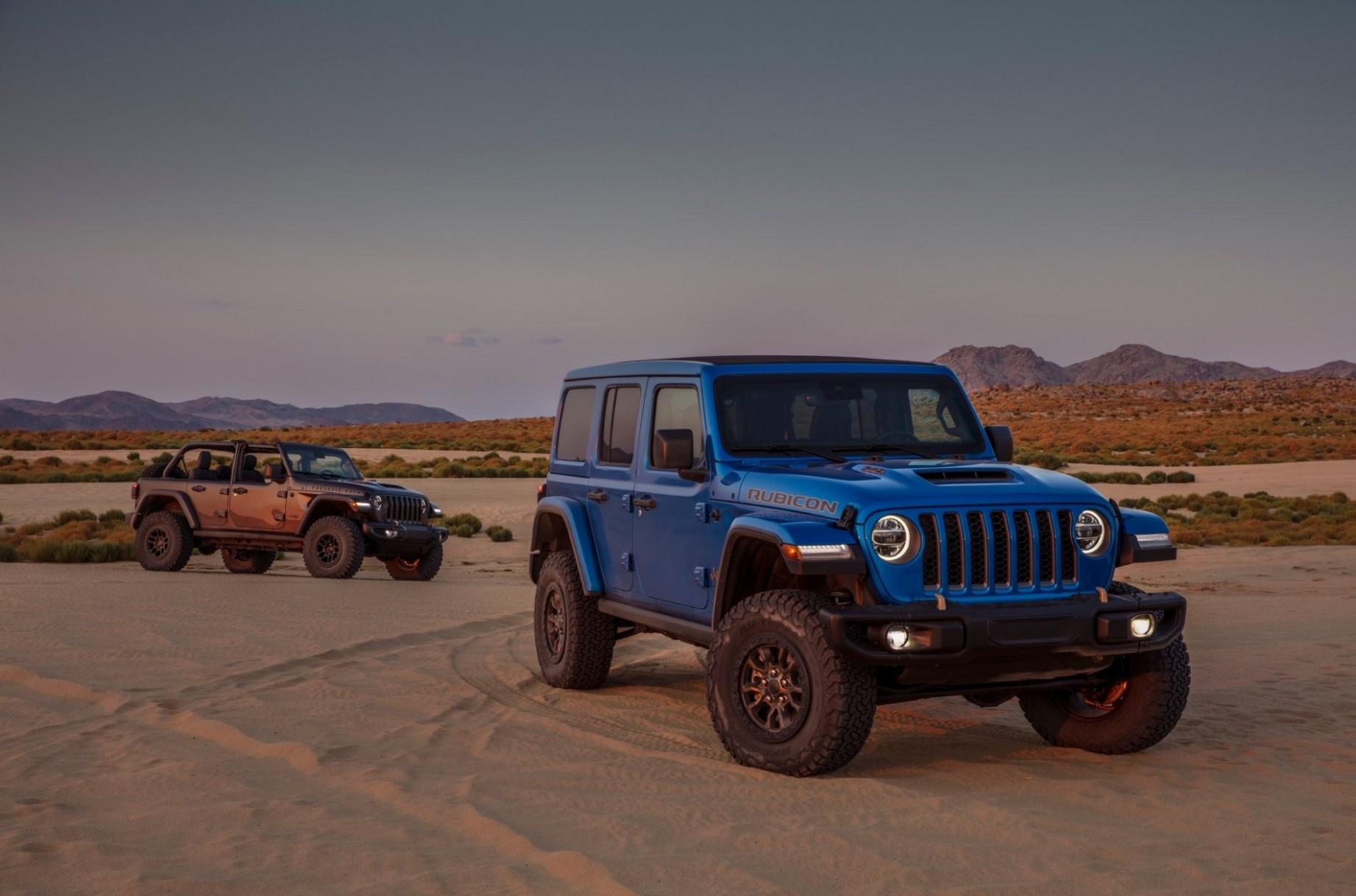 Exterior and Interior Jeep Wrangler Rubicon 2022