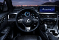 exterior and interior lexus rx 350 f sport 2022