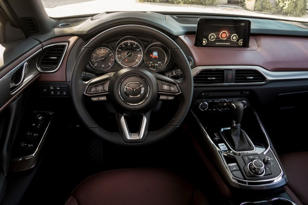 Performance and New Engine Mazda Cx 9 2022 Interior