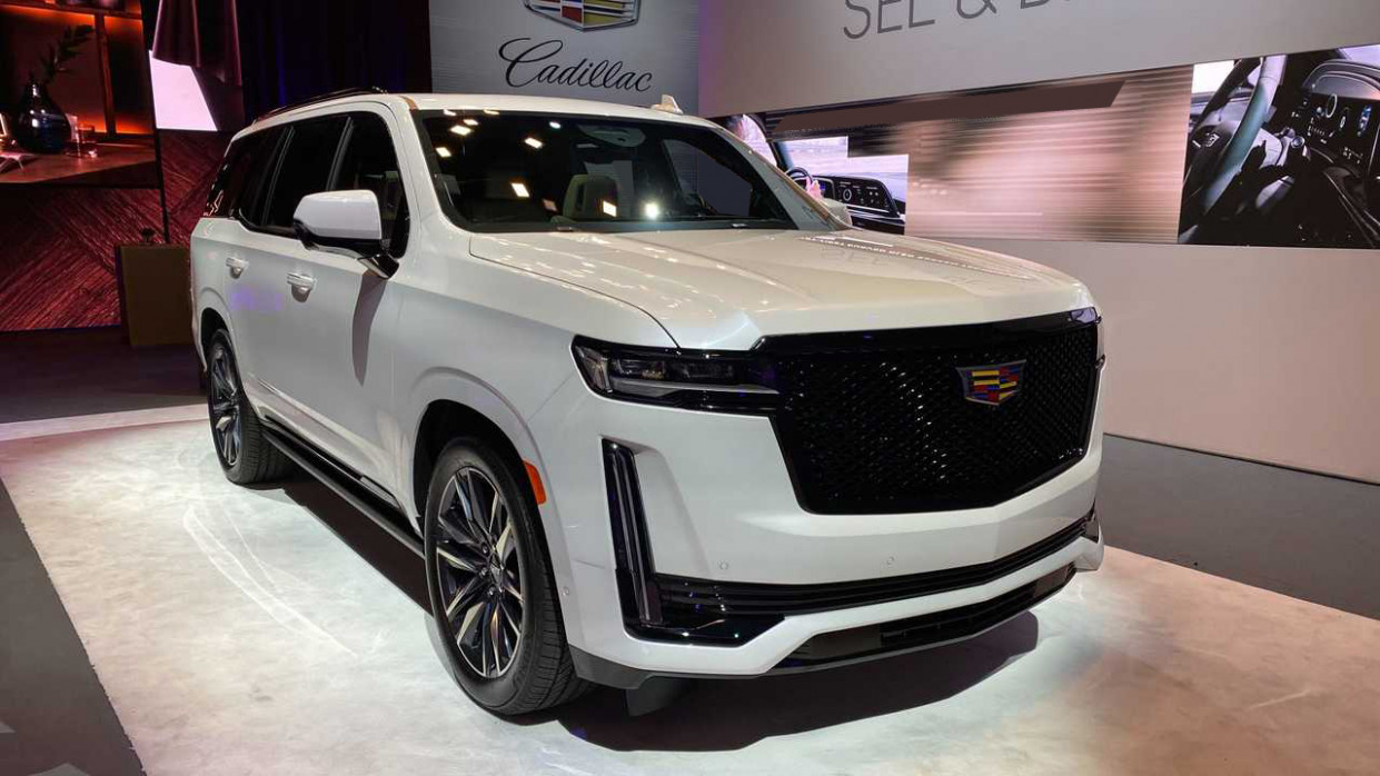 Wallpaper Next Generation 2022 Cadillac Escalade