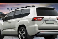 exterior and interior toyota new land cruiser 2022