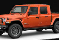 exterior and interior when will the 2022 jeep gladiator be available