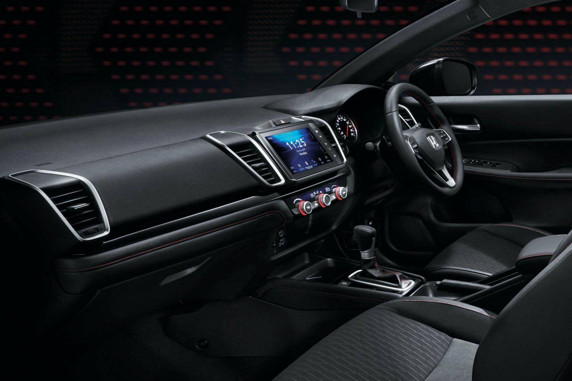 Configurations Honda City 2022 Interior