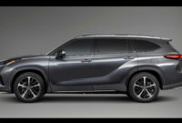 Exterior Toyota Highlander 2022
