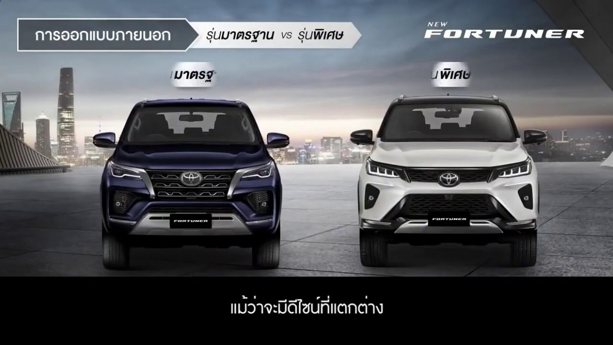 Redesign Toyota New Fortuner 2022