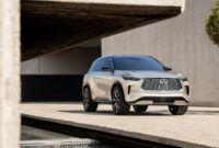 exterior when does the 2022 infiniti qx60 come out
