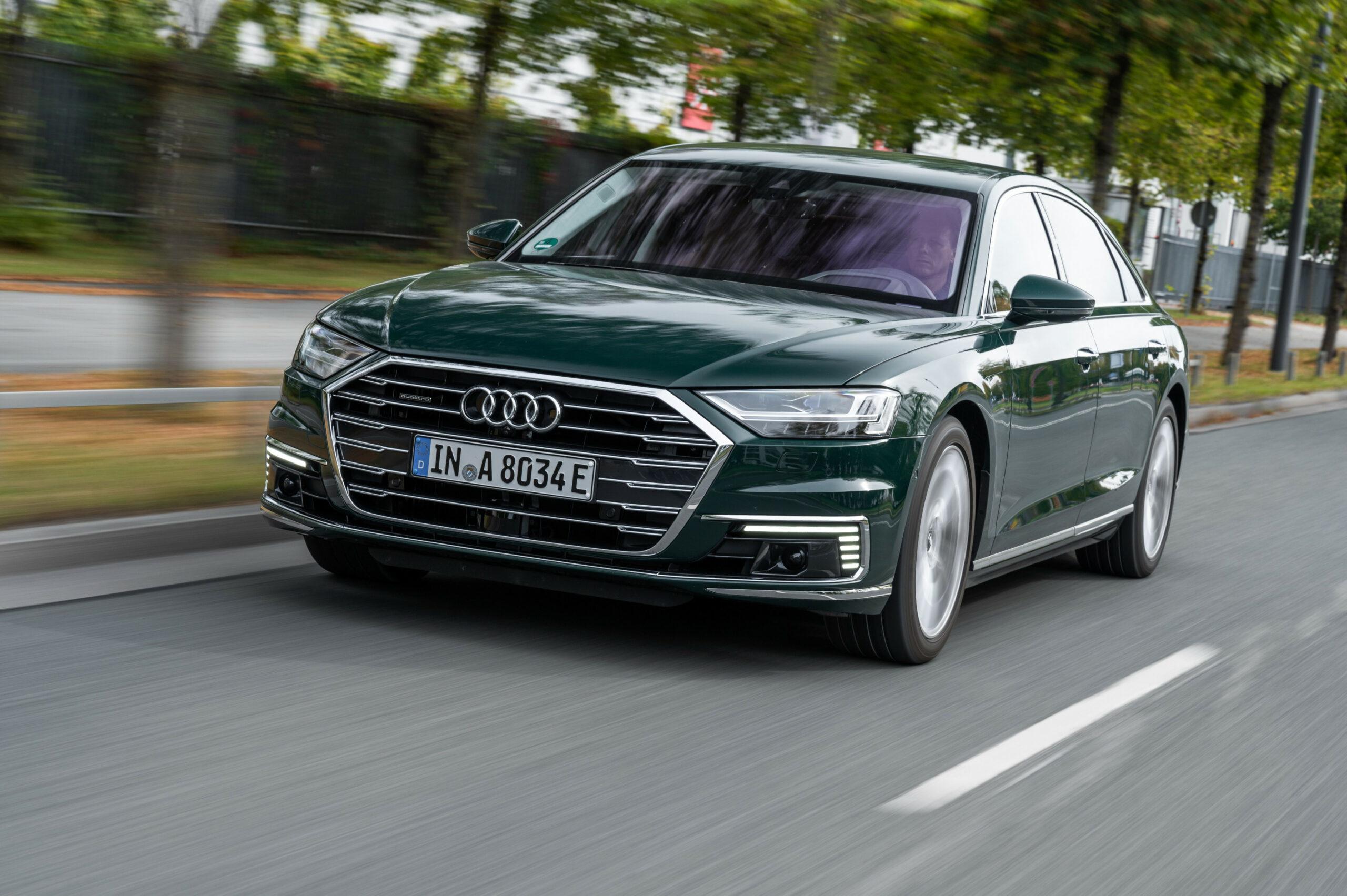 Exterior 2022 Audi A8 L In Usa