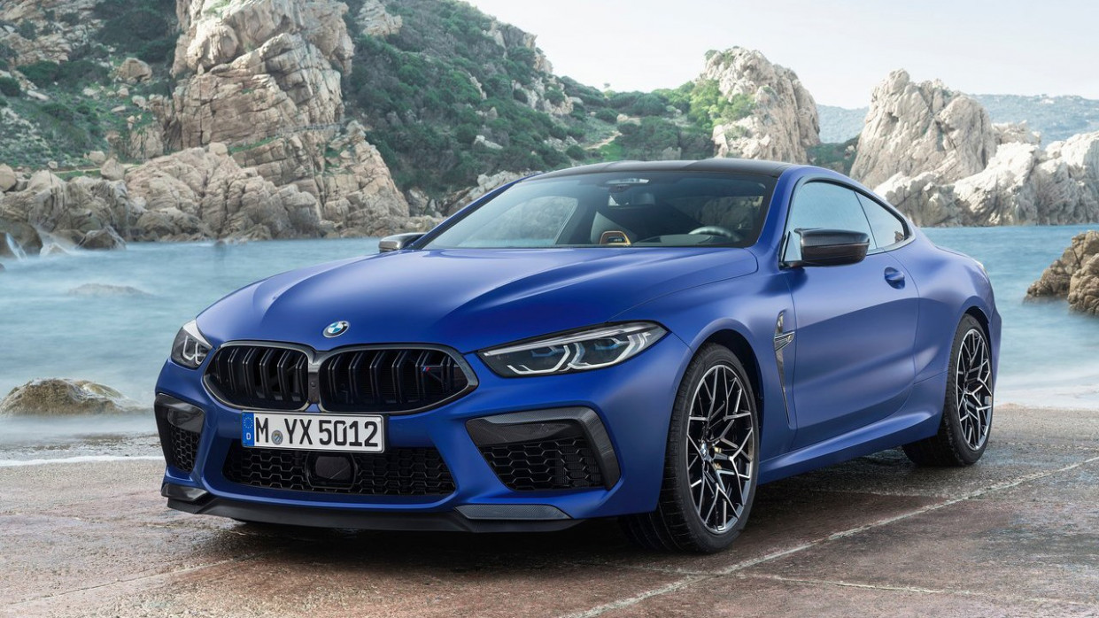 Overview 2022 BMW M8