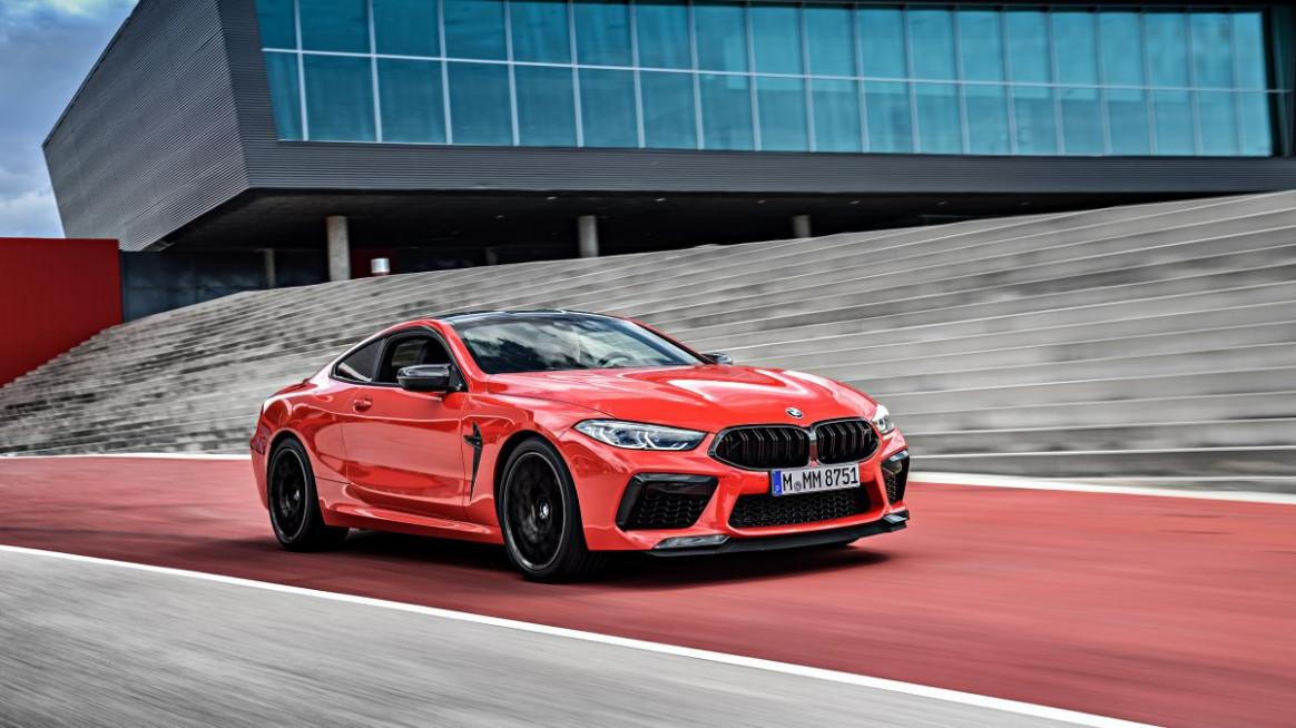First Drive 2022 BMW M8