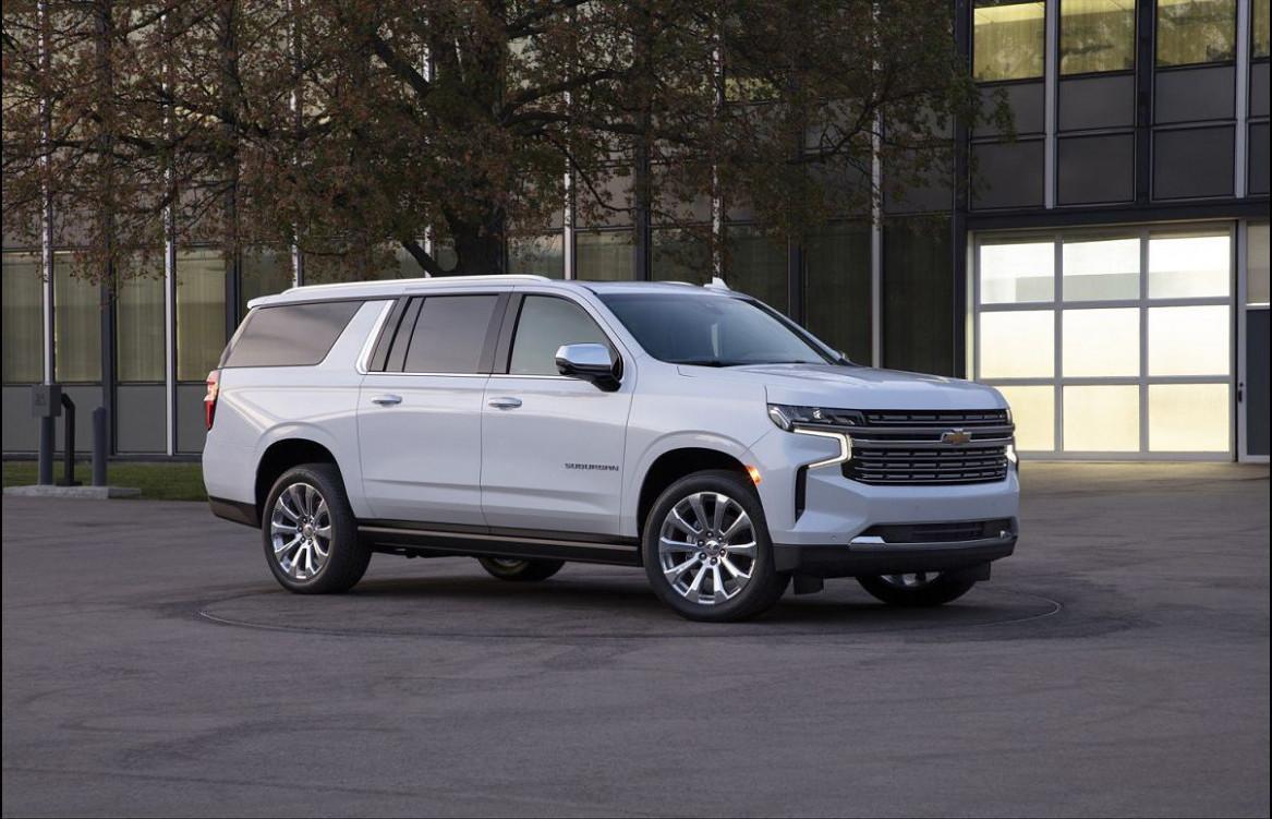 Configurations 2022 Chevrolet Suburban Redesign