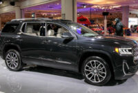 first drive 2022 gmc acadia changes