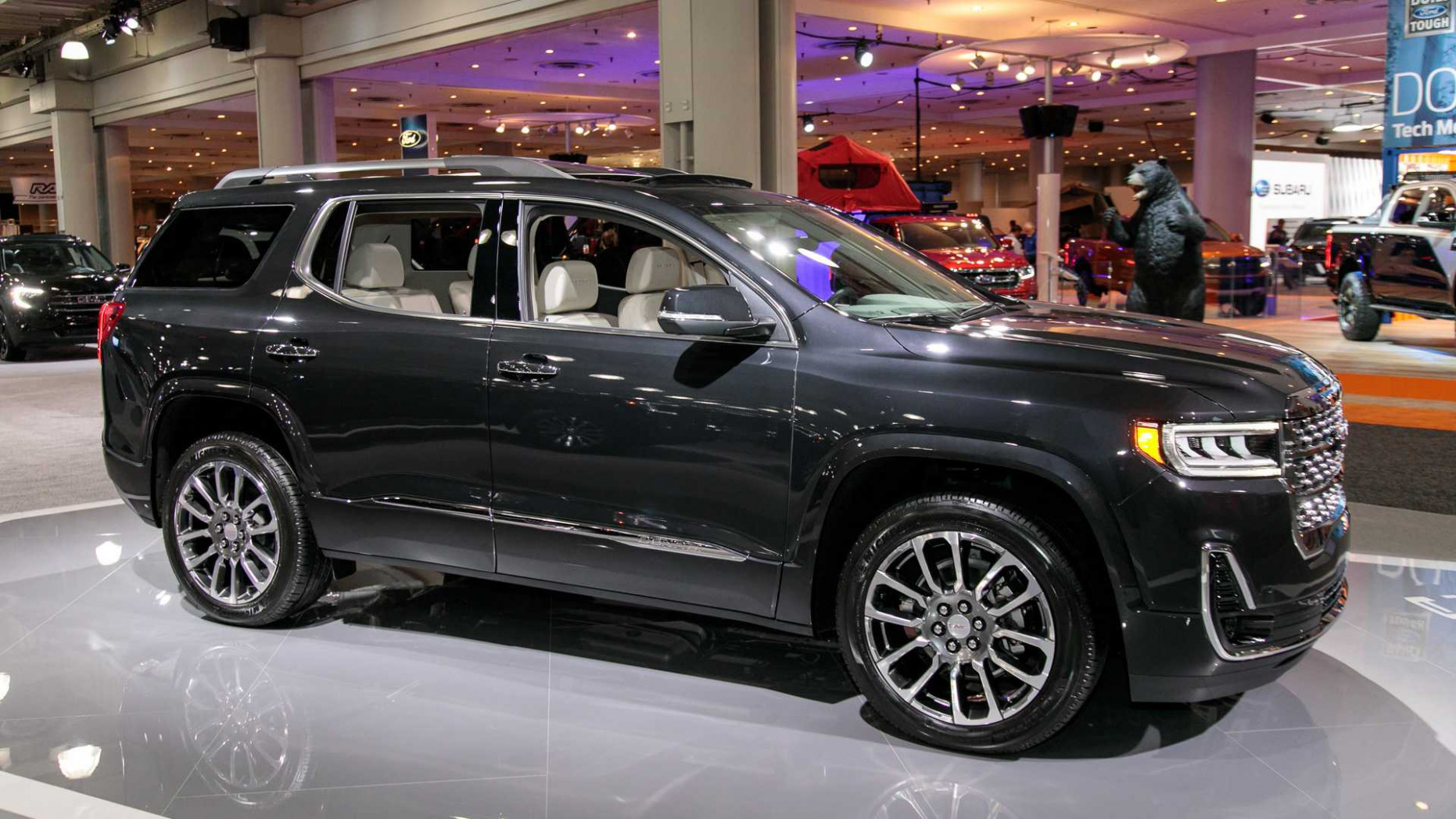 Review and Release date 2022 Gmc Acadia Changes