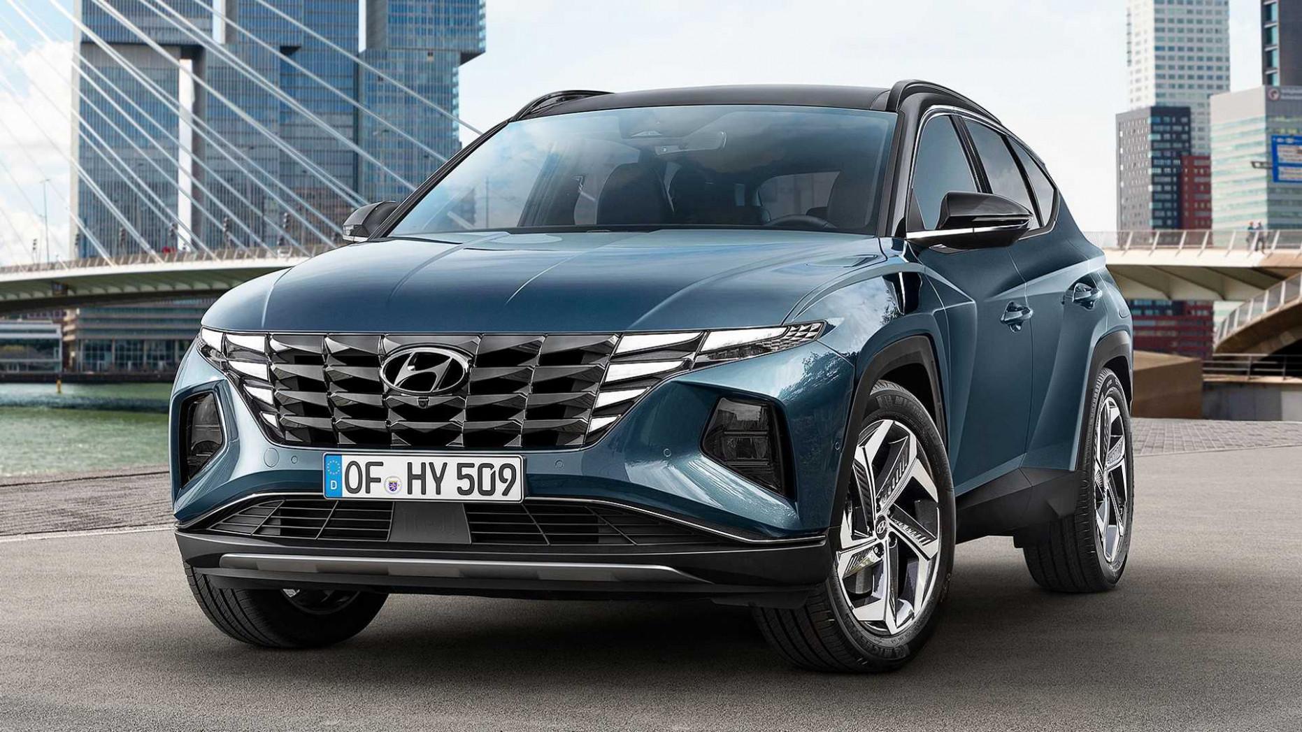 Concept 2022 Hyundai Tucson