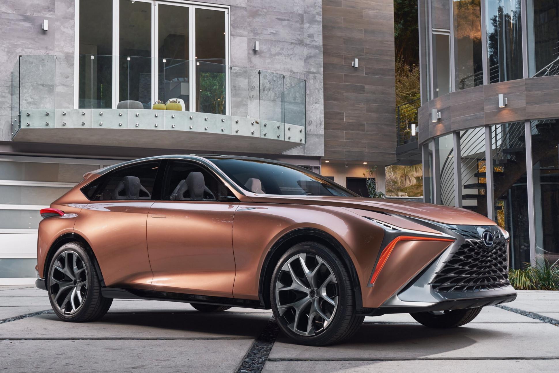 History 2022 Lexus TX