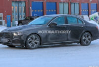 first drive 2022 the spy shots mercedes e class