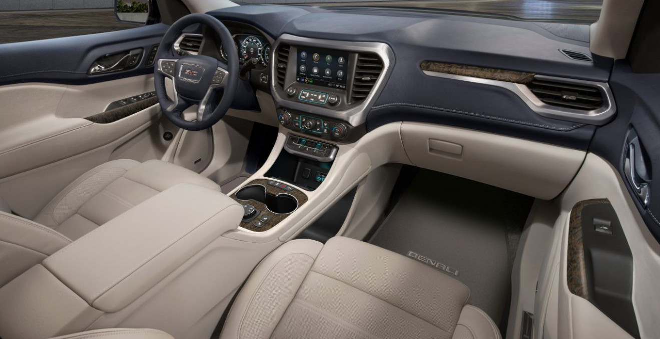 Redesign and Review Gmc Acadia 2022 Vs 2019