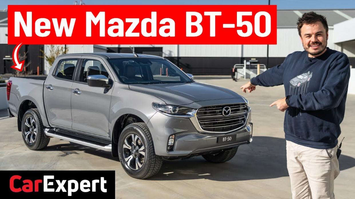 History Mazda Bt 50 Pro 2022
