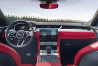 first drive new jaguar xe 2022 interior