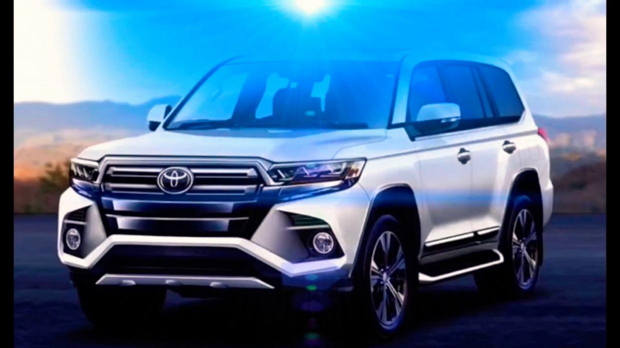 History Toyota New Land Cruiser 2022