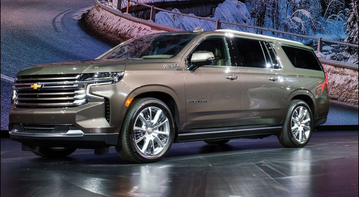 Images 2022 Chevrolet Suburban Redesign