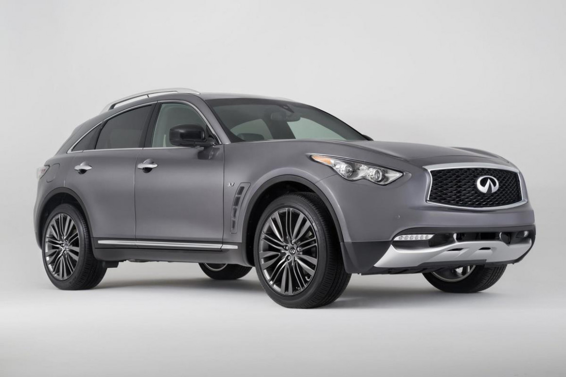 Redesign and Review 2022 Infiniti QX70