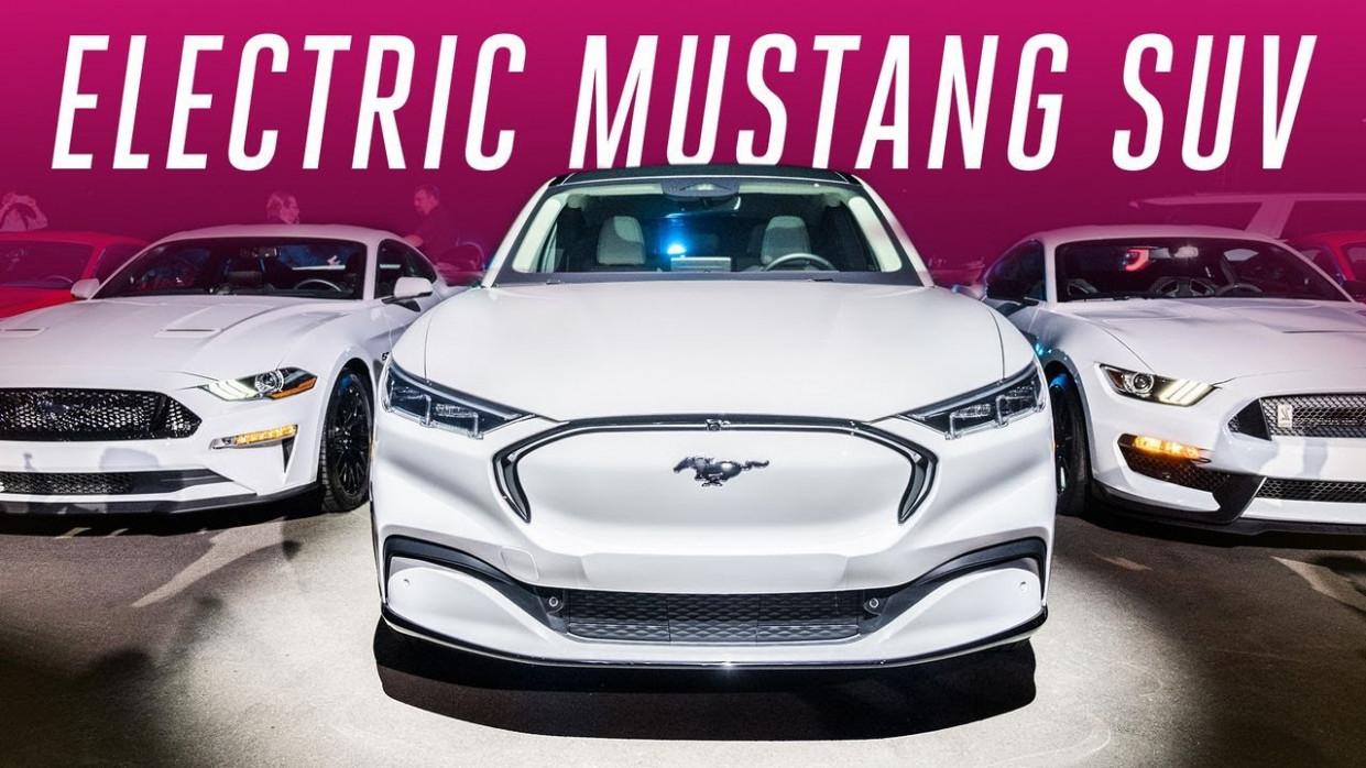 History Ford Mustang Suv 2022