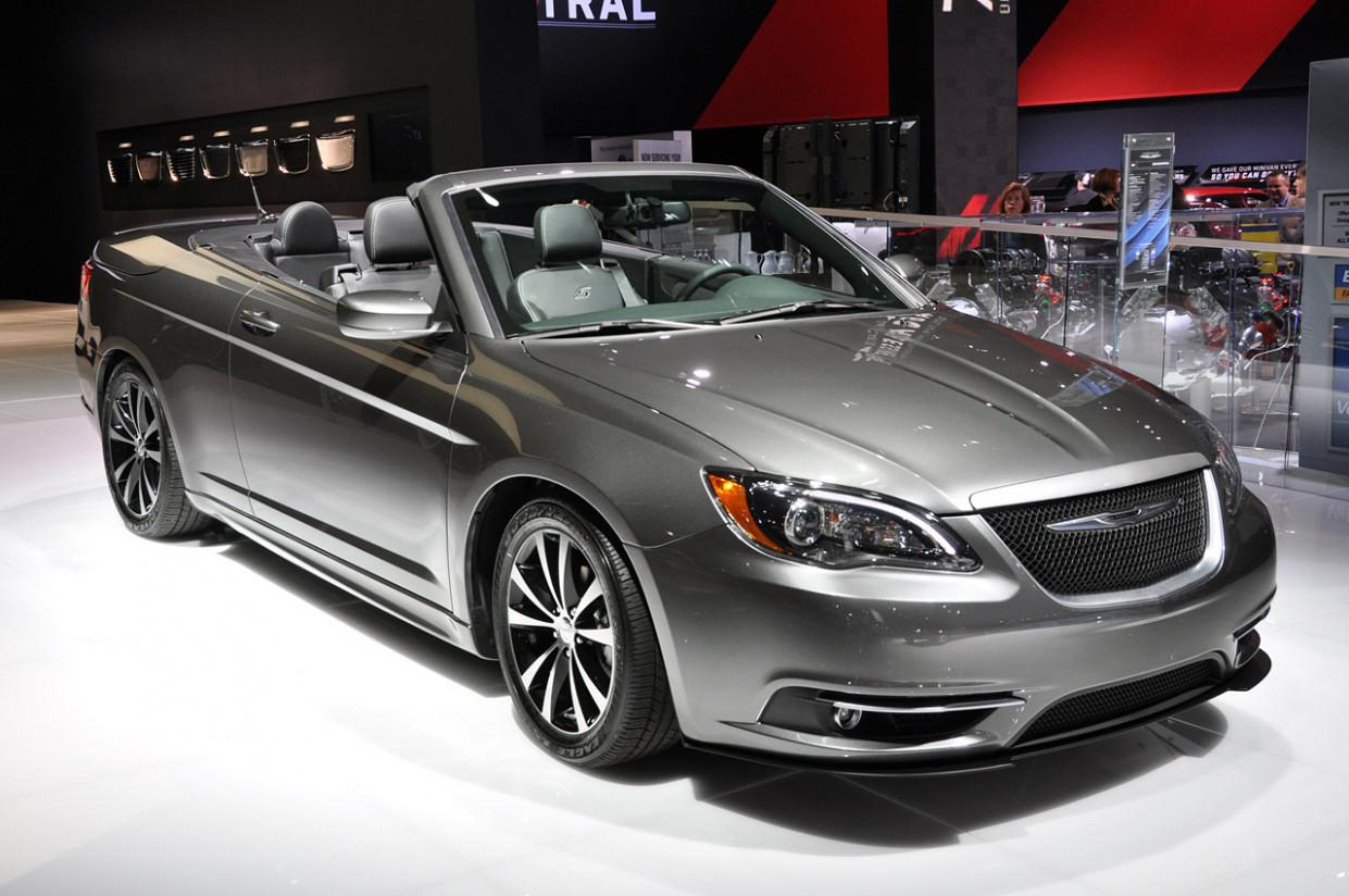 History 2022 Chrysler 200 Convertible
