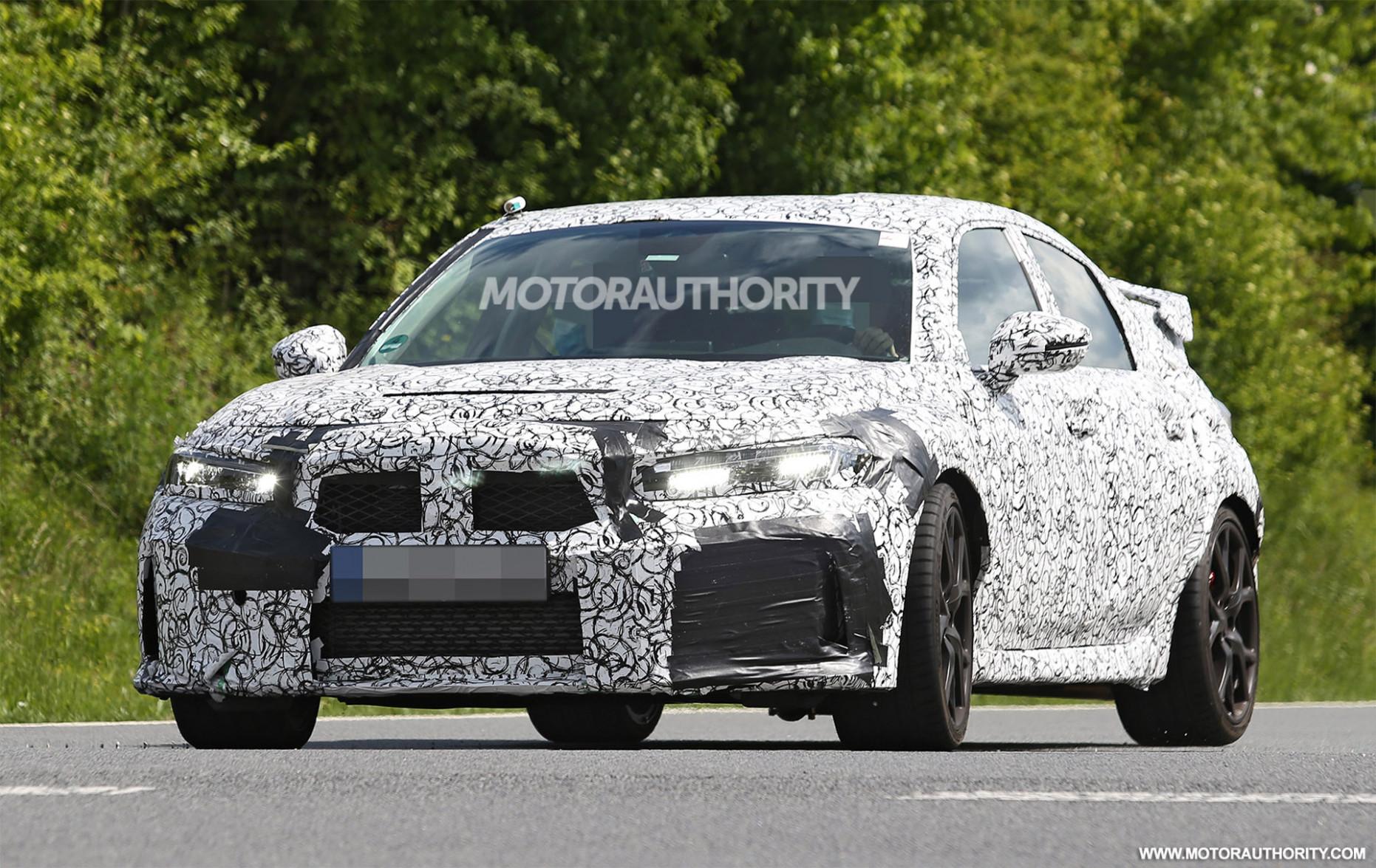 Spy Shoot 2022 Honda Civic Type R
