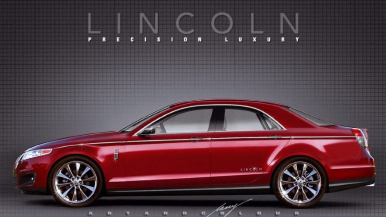 Redesign and Review 2022 Lincoln Town Car