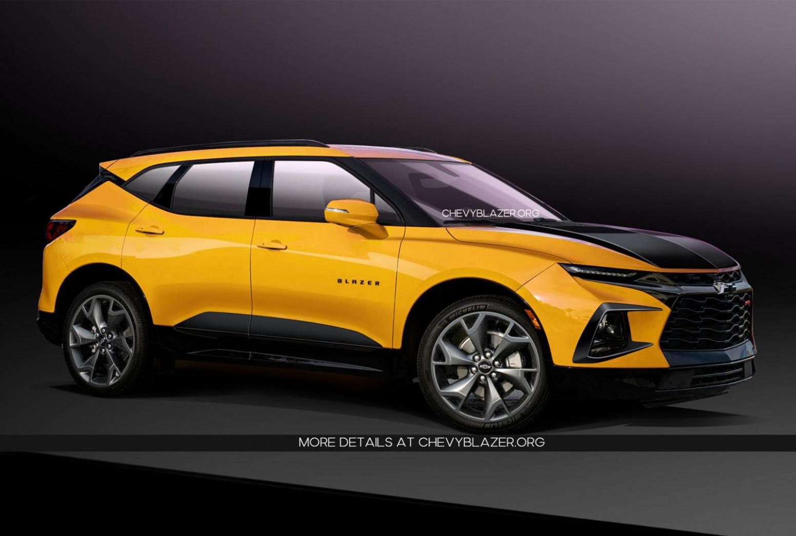 Redesign Chevrolet Blazer 2022