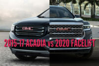images gmc acadia 2022 vs 2019