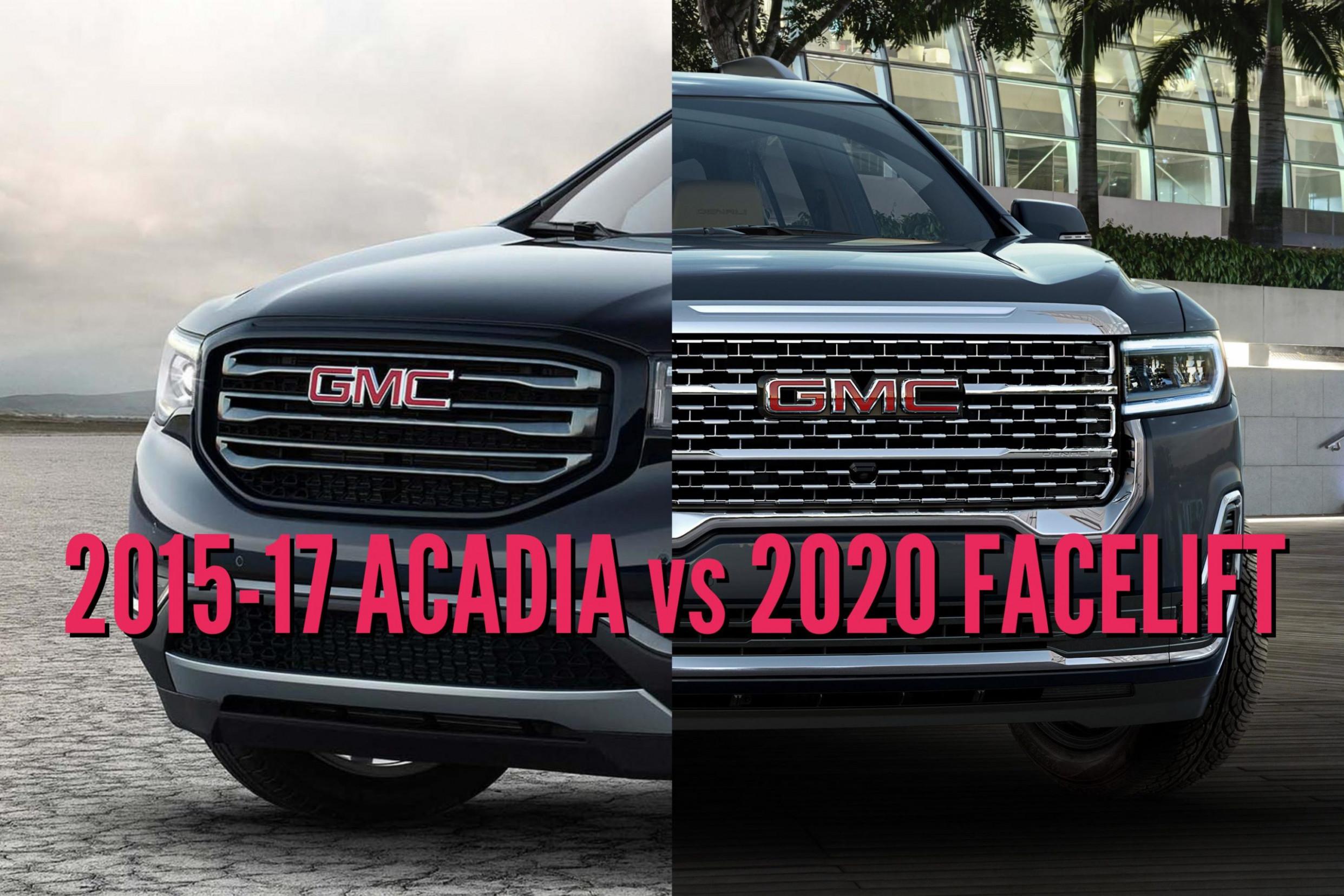 Release Gmc Acadia 2022 Vs 2019