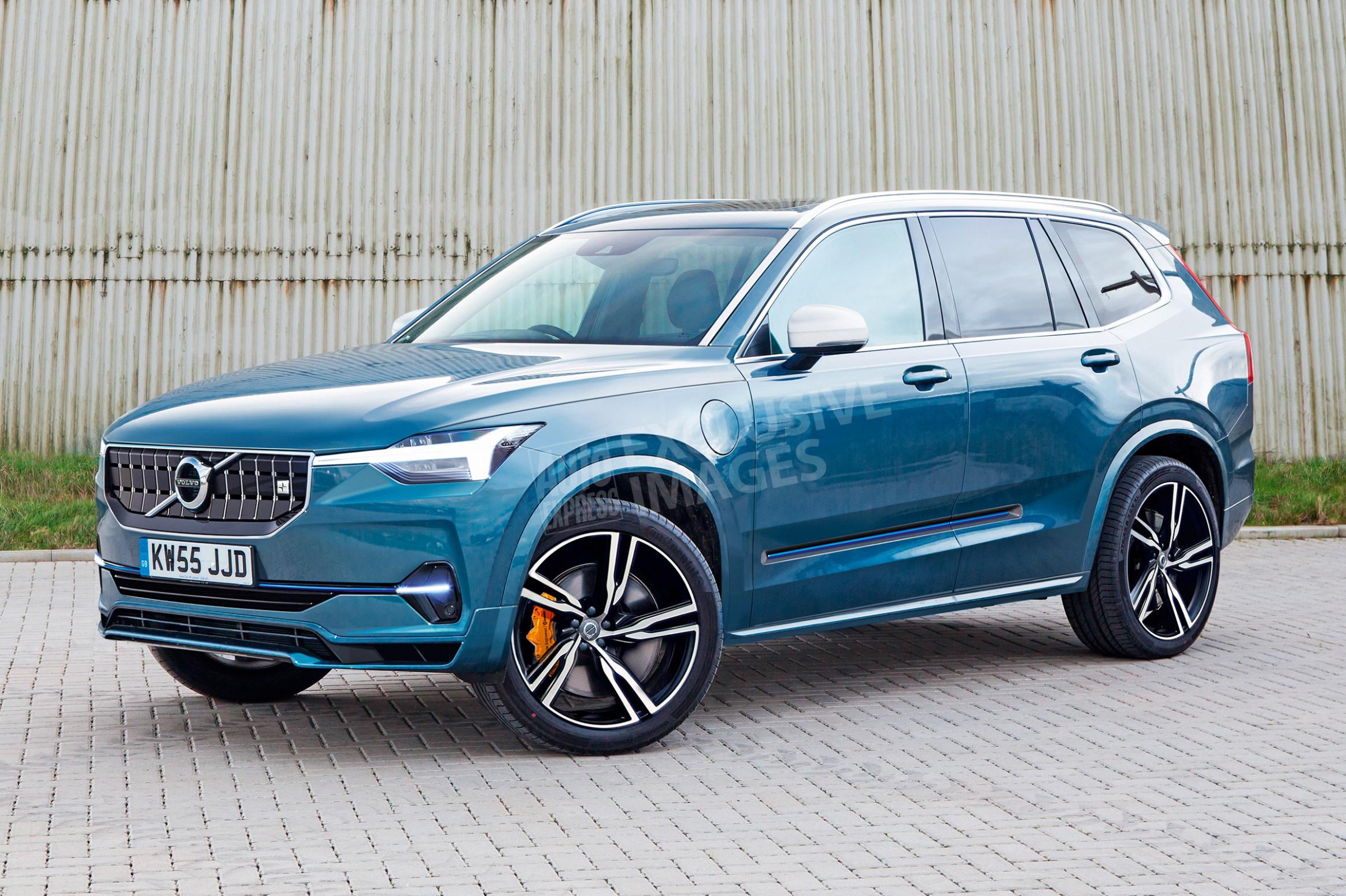 Redesign Volvo Hybrid 2022