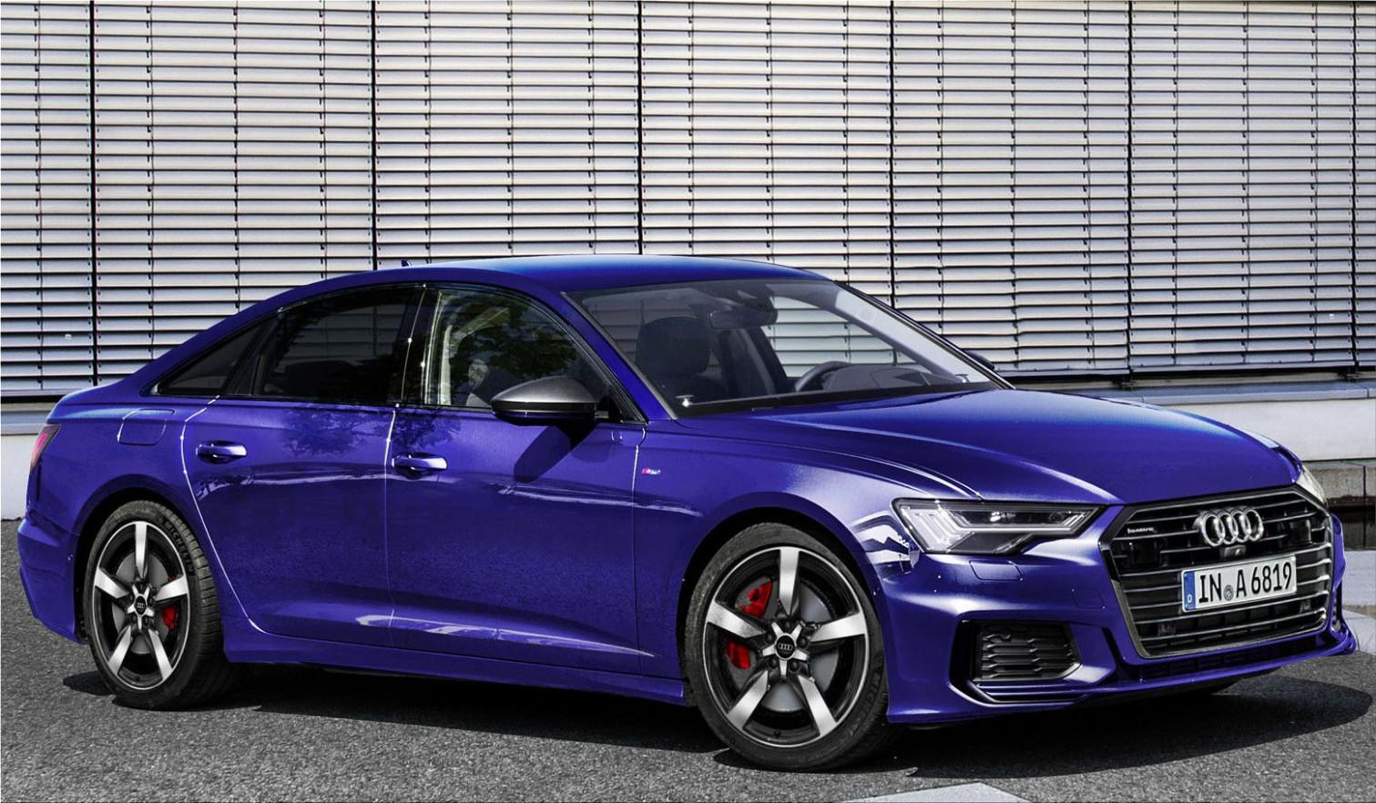 History 2022 Audi A6 Comes