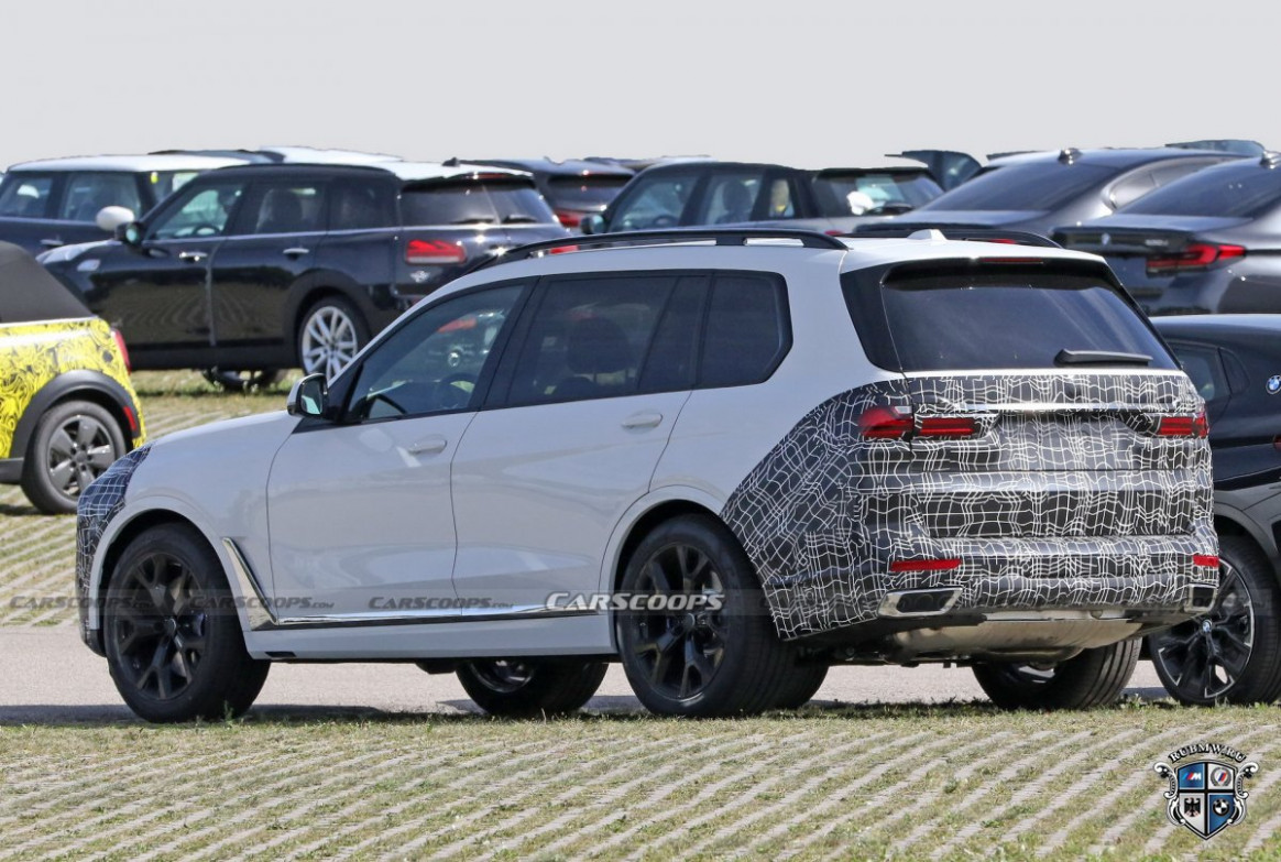 Exterior 2022 BMW X7 Suv