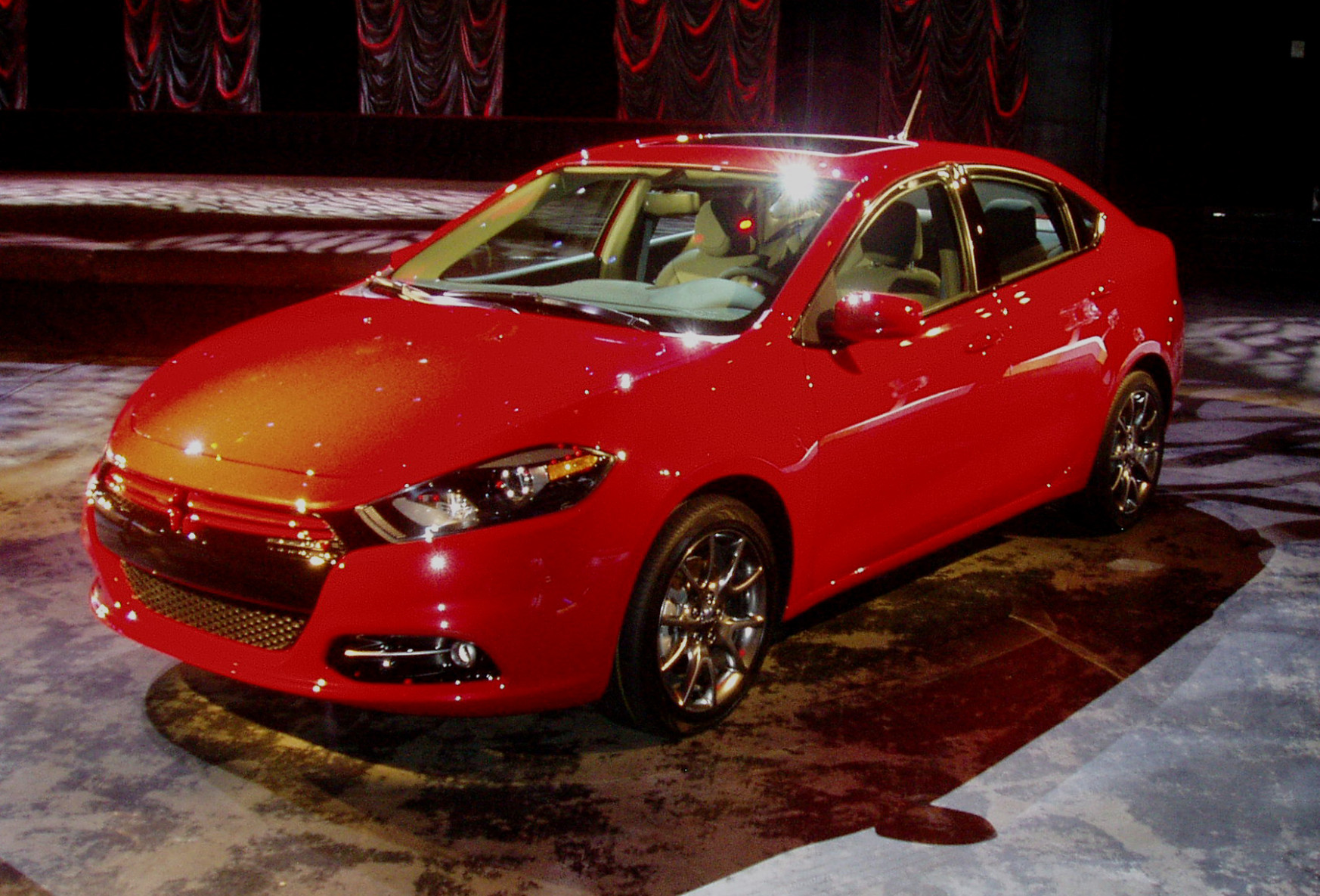 Performance 2022 Dodge Dart Srt4 Driving Art