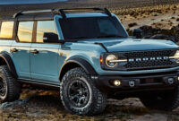 Release Date 2022 Ford Bronco