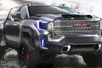 interior 2022 gmc sierra hd release date