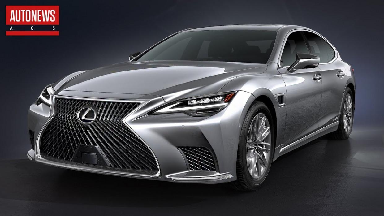History 2022 Lexus Ls 500 V8