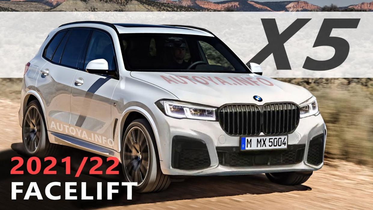 Spy Shoot 2022 Next Gen BMW X5 Suv