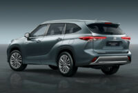 interior when will 2022 toyota highlander be available