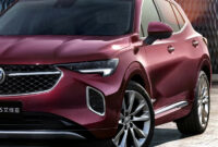 model 2022 buick envision colors