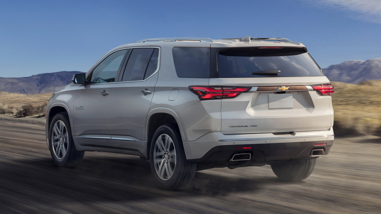 Redesign and Review 2022 Chevy Traverse