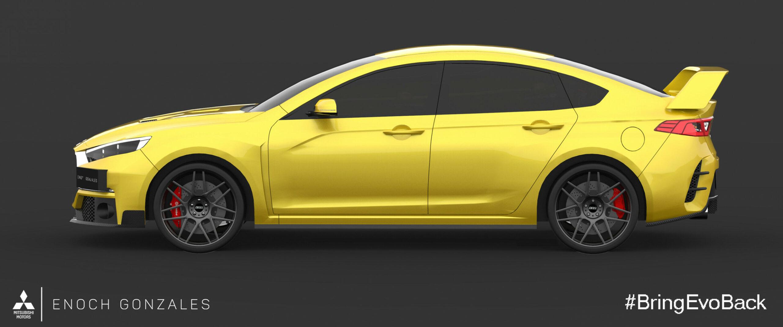 Style 2022 Mitsubishi EVO XI
