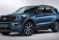 model ford explorer 2022 release date